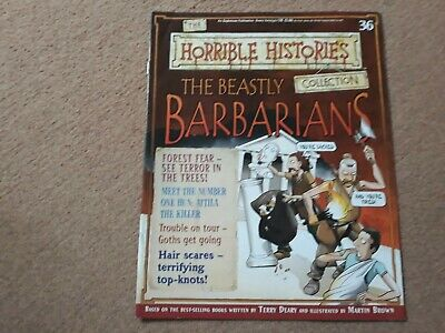 Horrible histories magazine collection issue 36 The Beastly Barbarians