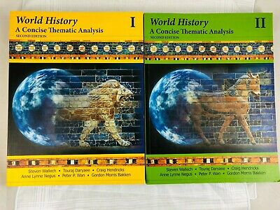 World History A Concise Thematic Analysis Volume 1 & 2 Second Edition