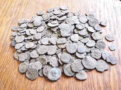 LOT OF 300 ANCIENT ROMAN BRONZE COINS LOW QUALITY No combined shipping
