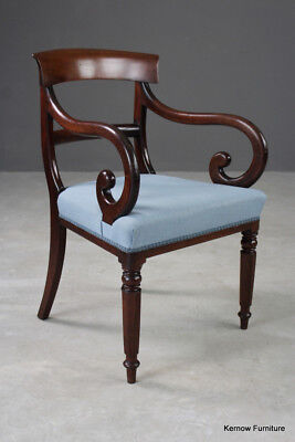 18th Century Mahogany Former Cockpen Carver Chippendale Armchair C1780 Needs Tlc Excellent In Quality