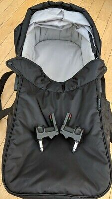 Baby Jogger City Mini Compact Carrycot, Black.