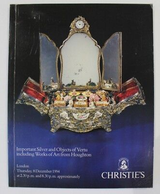 Christies Important Silver & Objects of Vertu inc. Houghton Collection 1994