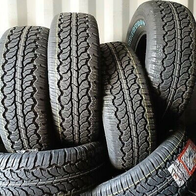 4 2657016 HIFLY 265 70 16 AT Tyres x4 112T SR 265/70R16 M&S 4x4 ALL TERRAIN
