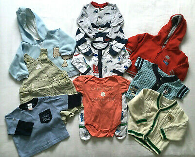 Boys ~ Age 3-6 Months ~ Clothing Bundle ~ 10 Items