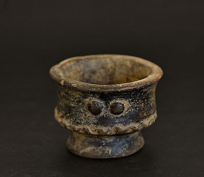 Tyrona Tairona Colombia Pre Columbian Ceramic Clay Tiny Bowl 200BCE-1600CE