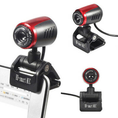1080P HD USB 12MP Camera Web Cam Mic 360° Clip-on 30fps for PC Computer