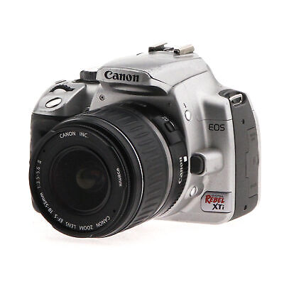 Canon Rebel XTi w/ 18-55mm EF-S Lens Kit - Silver (Used)