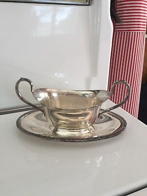Camille International Silver Co 6013 Gravy Boat