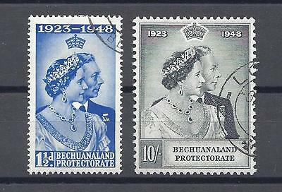 BECHUANALAND 1948 SG 136/7 RSW USED Cat £50.10