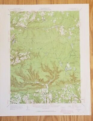 1953 Laporte PA Quadrangle USGS Topographic Map