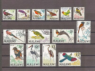 MALAWI 1968 SG 310/23 Fine Used Cat £90