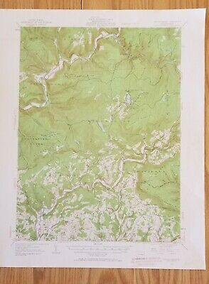 1953 Eagles Mere PA Quadrangle USGS Topographic Map