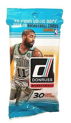 1x Panini Donruss 2018 / 19 Fat Pack Hobby NBA Basketball Sealed 30 Cards
