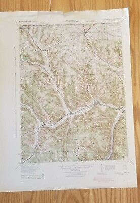 1943 Youngsville PA Quadrangle USGS Topographic Map