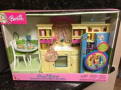 Barbie Decor Collection Kitchen Playset Barbie Kitchen New Last One