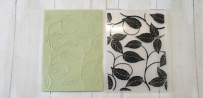 Embossing Folder   -  Leaf Design