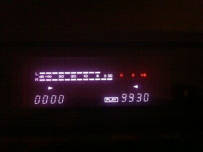 Teac Stereo Cassette Recorder W-760 Double Dolby C HX Pro RAD