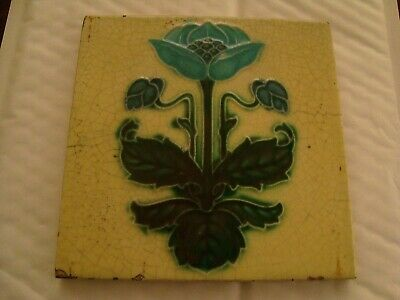 Charming  Corn Bros Art Nouveau Floral Tile  20/5