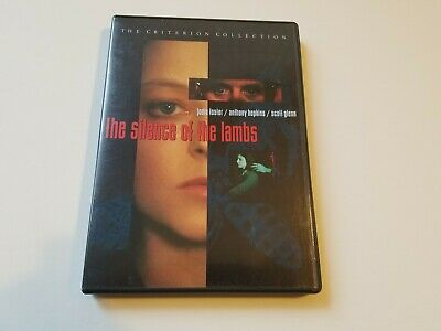 The Silence of the Lambs DVD Criterion Collection OUT OF PRINT Jodie Foster