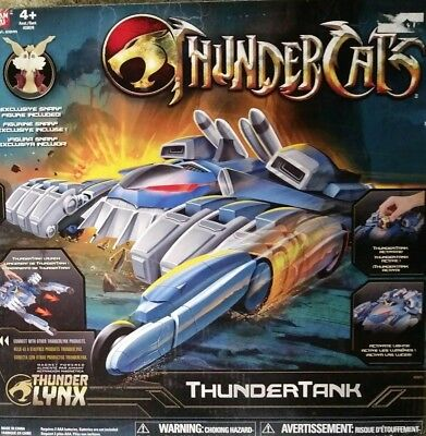 Thundercats Thunder Tank With Exclusive Snaef  10cm Scale action figure