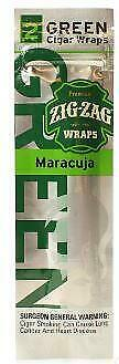 ZigZag Wraps Green River One Pack x 2 Wraps In Each Pack