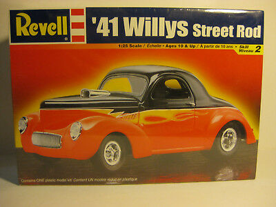 REVELL1941 Willys Coupe1/25 scale F/S kit skill 2 STREET ROD last one