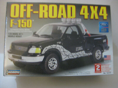 Lindberg Ford Off Road 4X4 F-150 Factory Sealed 1/25 Scale Skill Level 2