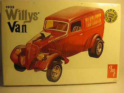 AMT 1933 Willys GASSER VAN 1/25 scale F/S kit skill2