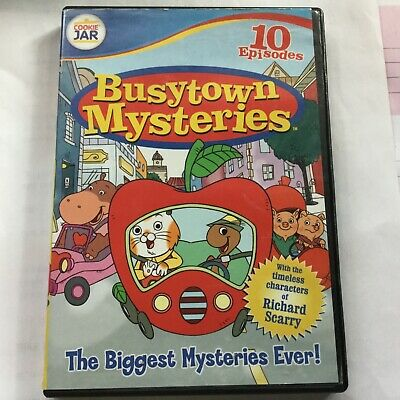 Richard Scarry BUSYTOWN MYSTERIES - The Biggest Mysteries Ever DVD