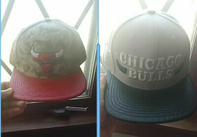 best sneakers 419bd 6bb69 Pro Standard Men s NBA Chicago Bulls Logo Hat lot Camo and black and grey