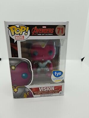 Funko POP! - Marvel Avengers Age Of Ultron #71 - Vision - FYE Exclusive