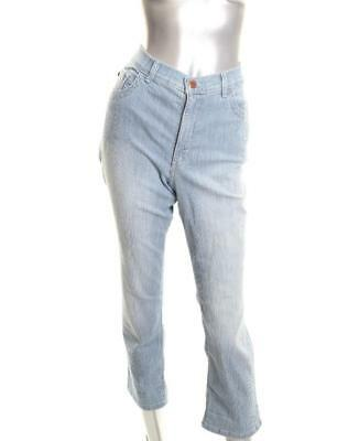 af09f4a1 New Women's Lee Platinum Petite Cameron Stretch Cropped Bleach Railroad 10P