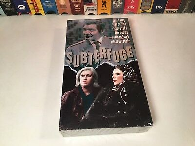 Subterfuge New Sealed British Thriller VHS 1968 Gene Barry Joan Collins 60's