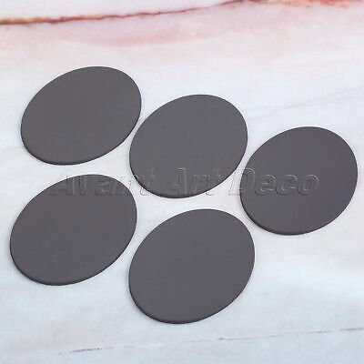 5pcs Household DIY Fridge Magnets Strong Oval Personal Refrigerator Stickers