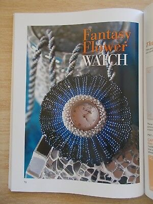 A Beading Journey~Sheilah Cleary~Jewellery~Watches~Wire-Knitted Brooch~Macrame..
