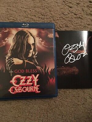 ozzy osbourne ,black sabbath signed photo Blu-ray Disc