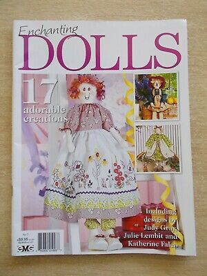 Enchanting Dolls #2~17 Patterns~Patches~Holly~Ginny~Rosie~Poppy~Annie~Emma Lou