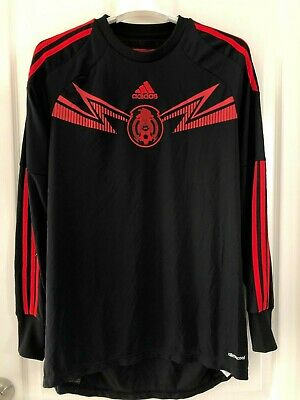 59a9162b4b0 Adidas Goalkeeper Mexico Soccer Jersey Away 50 Years Of Mexico Wc Rare Item