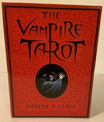 The Vampire Tarot Cards (Complete Set) Robert M Place - Rare First Edition!