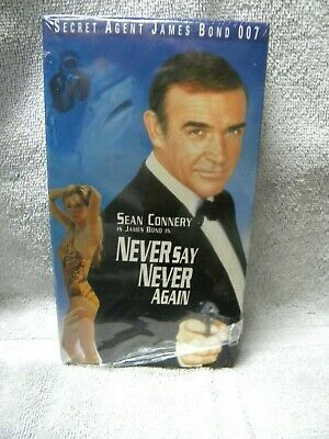Never Say Never Again (VHS) Sean Connery 007