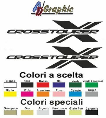 Adesivi adesivo 2.PZ Stickers decal sticker moto bike honda crosstourer x 1200