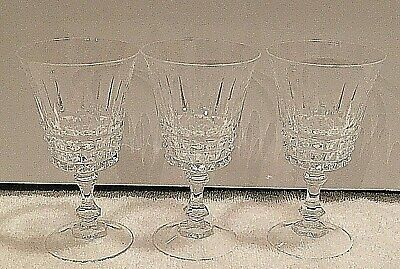 WaterFord Irish Lismore Claret The Most Finest Crystal Wine Glass, Set Of 3, 4oz