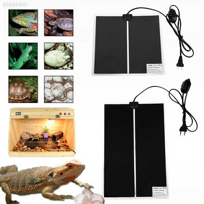 Pet Heat Mat Insect Reptile Brooder Incubator Heating Warm Heater Pad EU 2018