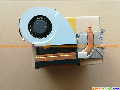 New For TOSHIBA Qosmio X500 X505 Series Laptop CPU Cooling Fan With Heatsink