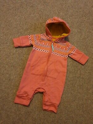 Baby Girl Newborn All In One Coat Jumper Mothercare