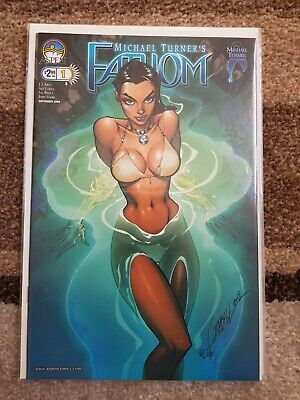 Fathom #1B, VOL 3, VFN, (2008), First Print, Aspen Comics - COVER B VARIANT