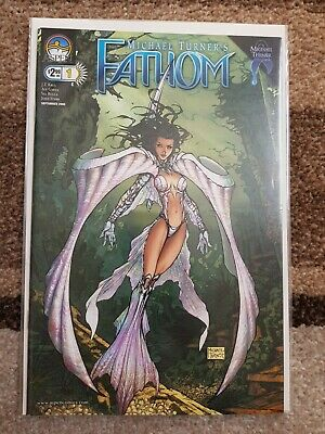 Fathom #1C, VOL 3, VFN, (2008), First Print, Aspen Comics - COVER C VARIANT