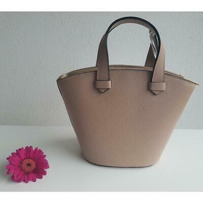 15a47e019e263d Umhängetasche kleiner CrossbodyLeder High Garden Made in Italy Ledertasche  Nude