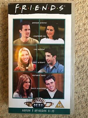 Friends series / season 3 episodes 21-25 vhs- VHS