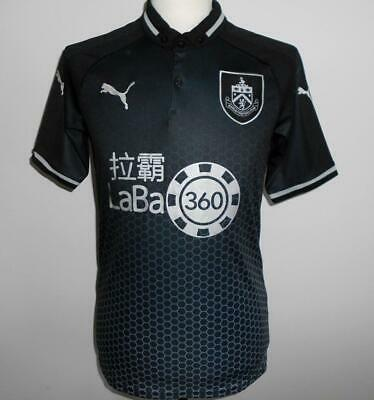 a6d9b845a BURNLEY FC Official Puma Men's Away Football Shirt 2018-2019 NEW Soccer  Jersey